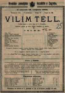 Vilim Tell velika opera u četiri čina / od G. Rossinia
