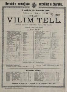 Vilim Tell drama u pet činova / od Schillera