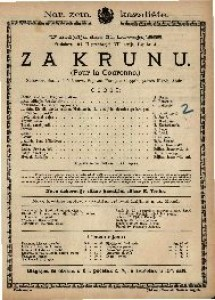 Za krunu : Stihovana drama u 5 činova / Spjevao  François Coppée  =  Pour la Couronne