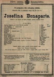 Josefina Bonaparte Gluma u pet činova / od Karla Heigela