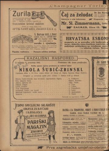 Nikola Šubić-Zrinski Glazbena slika u tri čina (8 slika)