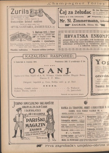 Oganj Opera u tri čina