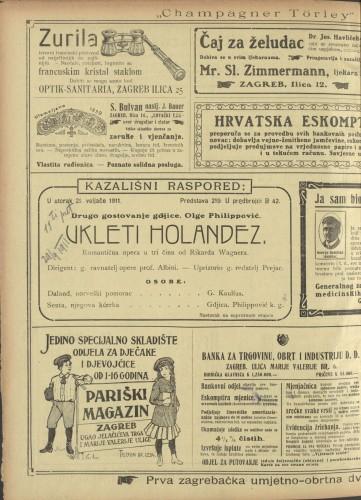 Ukleti Holandez Romantična opera u tri čina