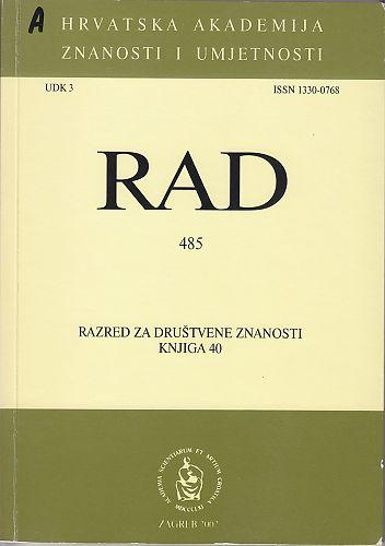 Knj. 40(2002) : RAD