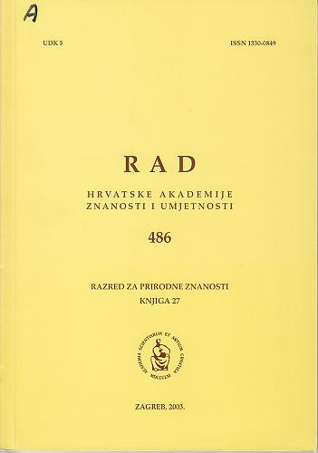 Knj. 27(2003) : RAD