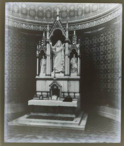 Schmidt, Friedrich von   ; Feurstein, Georg  : Katedrala sv. Petra (Đakovo) : Oltar svetog Ilije [C. Angerer & Göschl  ]