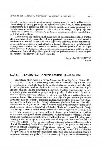 Slavonska narodna baština, Našice, 11.-12. 10. 1996.