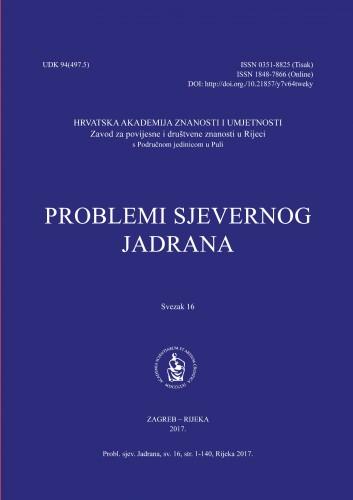 Sv. 16(2017) : Problemi sjevernog Jadrana