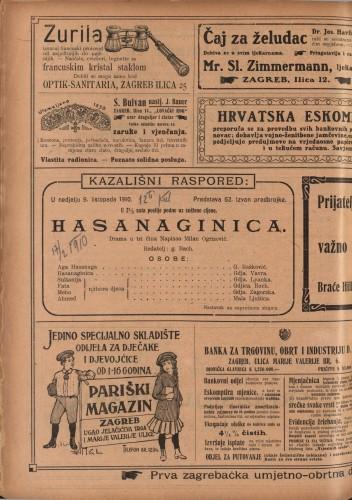 Hasanaginica : Drama u tri čina