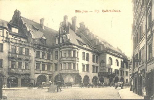 Dopisnica slikara Babića, Benkovića i Krušlina Antunu Ullrichu, Munchen, 18.1.1912.