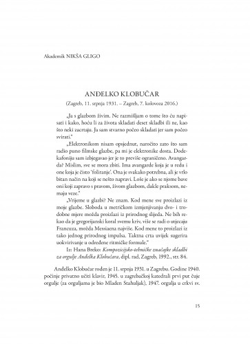 Anđelko Klobučar : (Zagreb, 11. srpnja 1931. - Zagreb, 7. kolovoza 2016.)