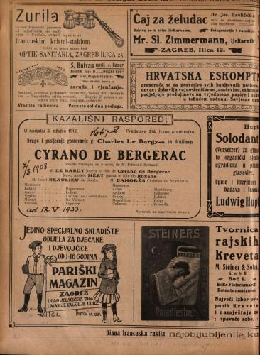 Cyrano de Bergerac Comédie héroïque en 5 actes / od Edmonda Rostanda