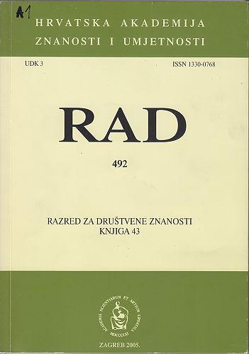 Knj. 43(2005) : RAD