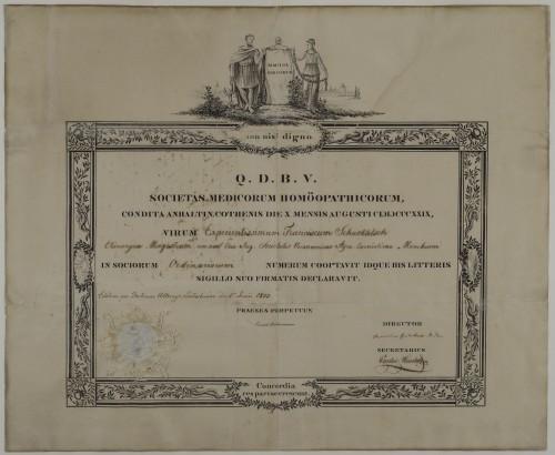 Članska povelja homeopatskog društva