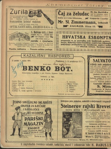 Benko Bot : Historijska tragedija u pet činova