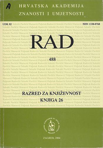 Knj. 26(2004) : RAD