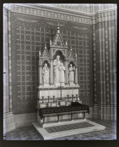 Donegani, Vatroslav (1836-7-28 1899-7-3) : Katedrala sv. Petra (Đakovo) : Oltar svetog Josipa [C. Angerer & Göschl  ]