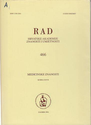 Knj. 27(1994) : RAD