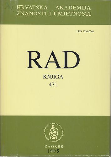 Knj. 33(1995) : RAD