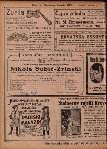 Nikola Šubić-Zrinski Glazbena slika u tri čina (osam slika)