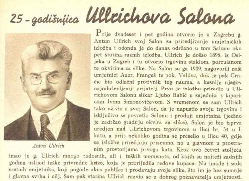25 - godišnjica Ullrichova Salona