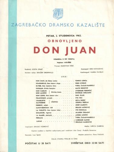 Don Juan Komedija u pet činova