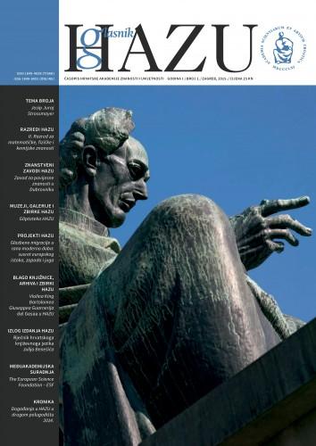 Godina I., broj 2, srpanj-prosinac 2014. : Glasnik HAZU : časopis Hrvatske akademije znanosti i umjetnosti