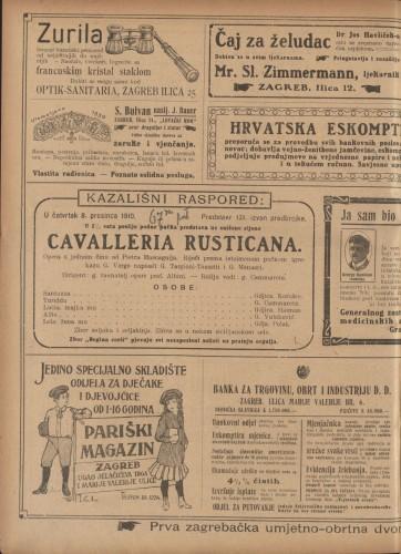 Cavalleria rusticana : Opera u jednom činu