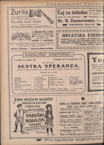 Sestra Speranza ; Ljubakanje Prizori iz života u jednom činu ; Drama u tri čina  =  Liebelei