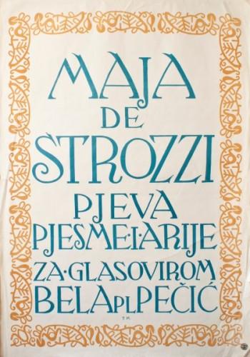 Maja de Strozzi pjeva