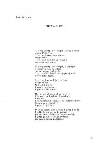Pjesma o Titu