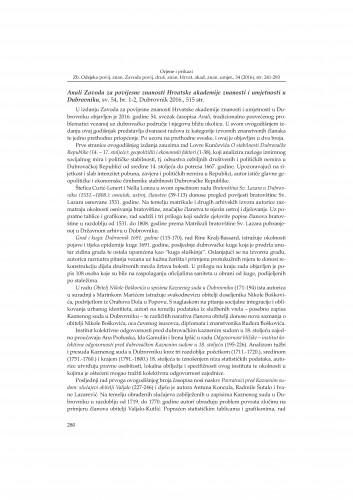 Anali Zavoda za povijesne znanosti Hrvatske akademije znanosti i umjetnosti u Dubrovniku, sv. 54, br. 1-2, Dubrovnik 2016. : [prikaz]