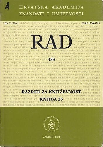 Knj. 25(2002) : RAD