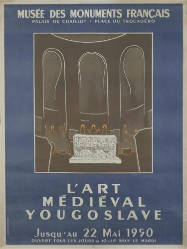 L'art Médieval Yougoslave, Paris