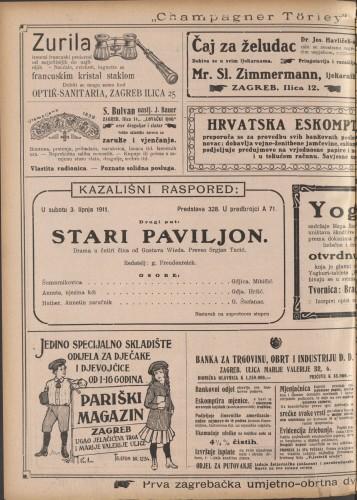 Stari paviljon : Drama u četiri čina