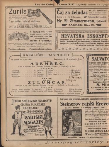 Adembeg ; Zulumćar : Slika u jednom činu: Komedija u tri čina