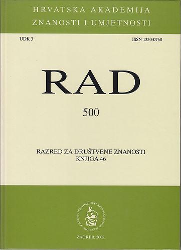 Knj. 46(2008) : RAD