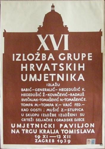 XVI. izložba grupe hrvatskih umjetnika