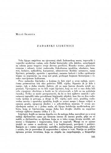 Zadarski liječnici