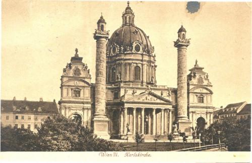 Dopisnica Tomislava Krizmana, Ive Kerdića i Marina Tartaglie Antunu Ullrichu, Beč, 8.11.1920.