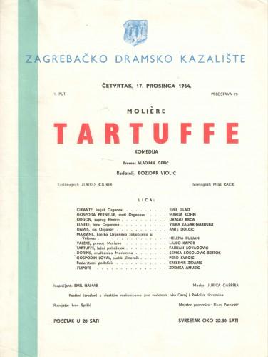 Tartuffe : Komedija