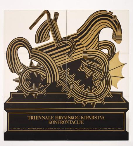 1. triennale hrvatskog kiparstva- konfrontacije