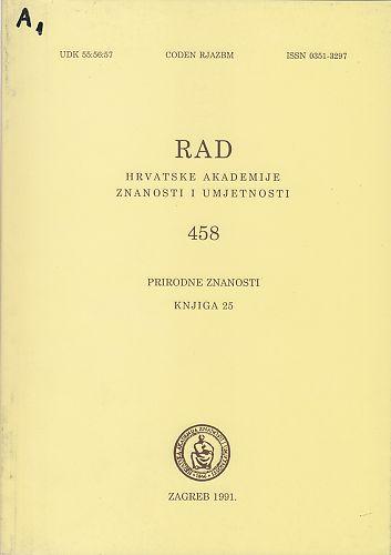 Knj. 25(1991) : RAD