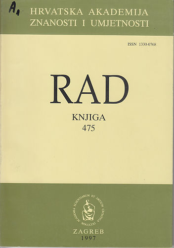 Knj. 35(1997) : RAD