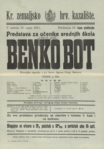 Benko Bot Historijska tragedija u pet činova