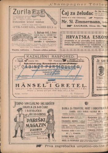 Häns i Gretel Operna priča u tri slike