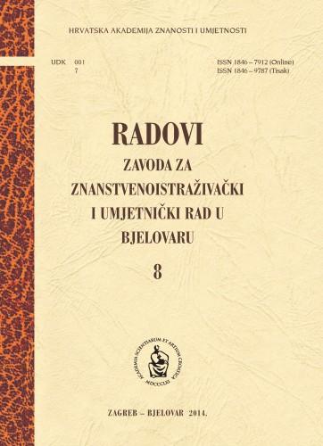 Sv. 8 (2014) : Radovi Zavoda za znanstvenoistraživački i umjetnički rad u Bjelovaru