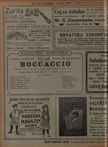 Boccaccio Komična opera u tri čina