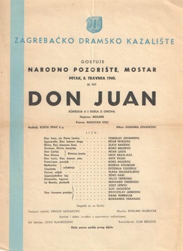 Don Juan Komedija u 2 dijela (5 činova)