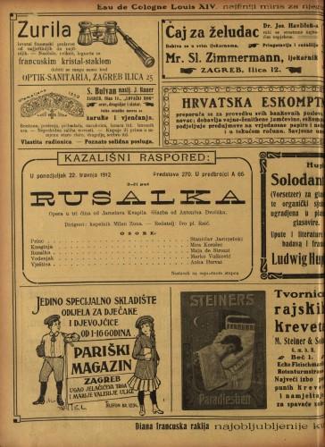 Rusalka : Opera u tri čina